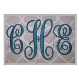 Elegant Monogram Set – 5″, 6″, 7″