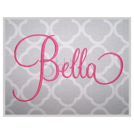 Stitchtopia Bella Embroidery Font