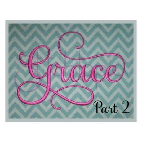 Stitchtopia Grace Monogram Set