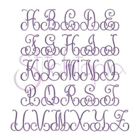 Stitchtopia Phoebe Monogram Set All Letters