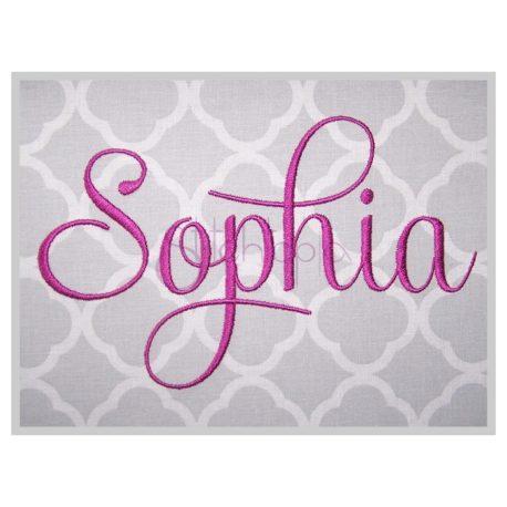 Stitchtopia Sophia Embroidery Font