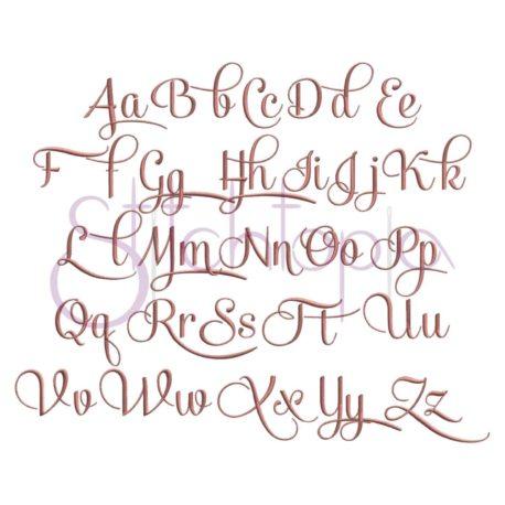 Stitchtopia Sophia Monogram Set All Letters