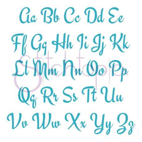 Stitchtopia Aubrey Monogram Set All Letters