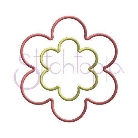 Stitchtopia Flower Applique Frame