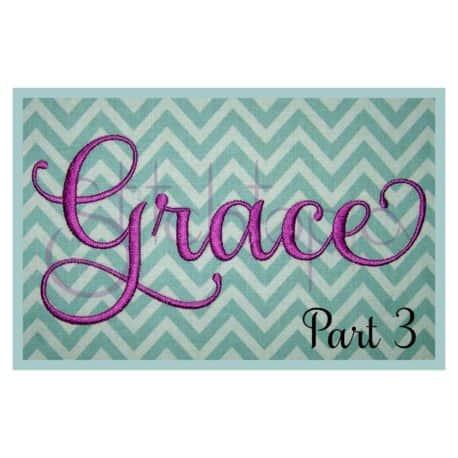 Stitchtopia Grace 6 Monogram Set