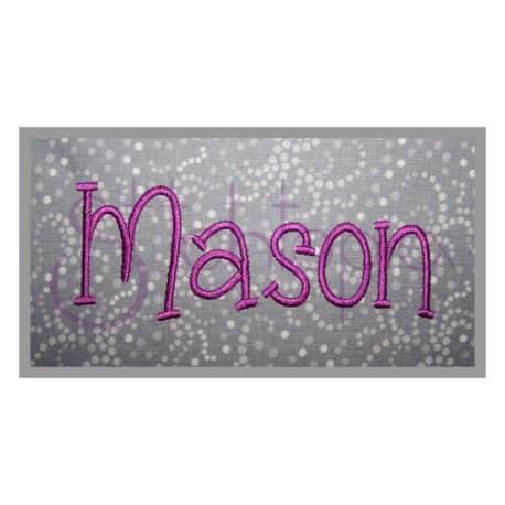 Stitchtopia Mason Monogram Set