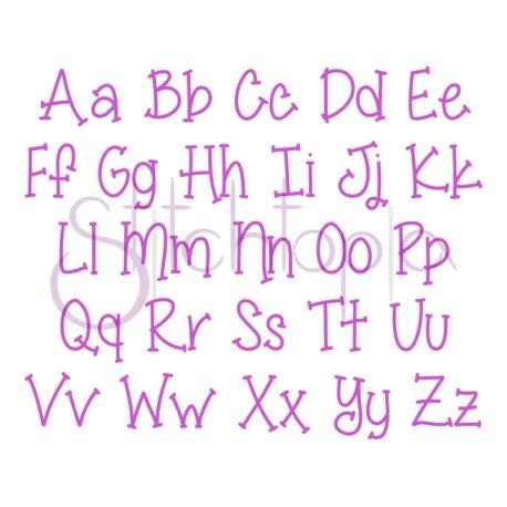 Stitchtopia Mason Monogram Set All Letters