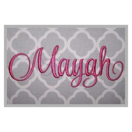 Stitchtopia Mayah 2 Monogram Set