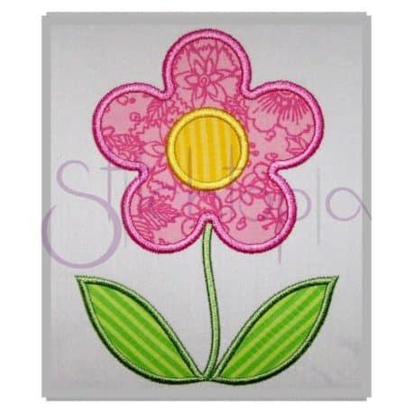 Stitchtopia Spring Flower Applique b