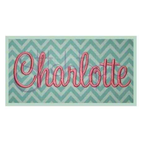 Stitchtopia Charlotte Monogram Set