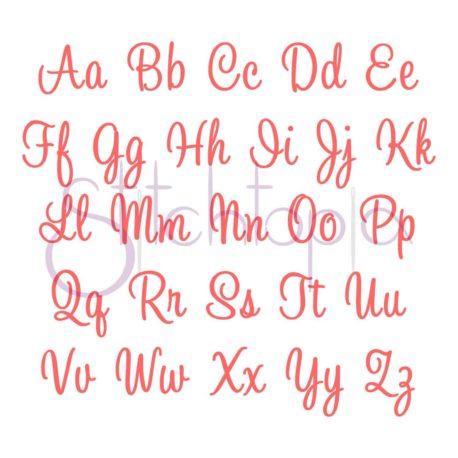 Stitchtopia Charlotte Monogram Set All Letters