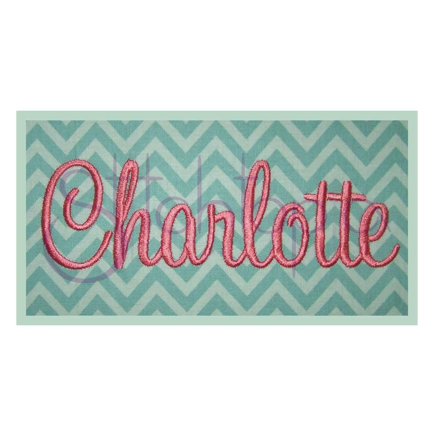 charlotte embroidery font set 1 quot 1 5 quot 2 quot 2 5 quot 3 quot stitchtopia