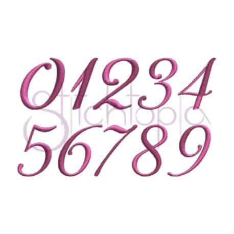 Stitchtopia Emily Monogram Set Numbers