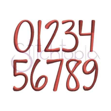 Stitchtopia Harper Monogram Set Numbers