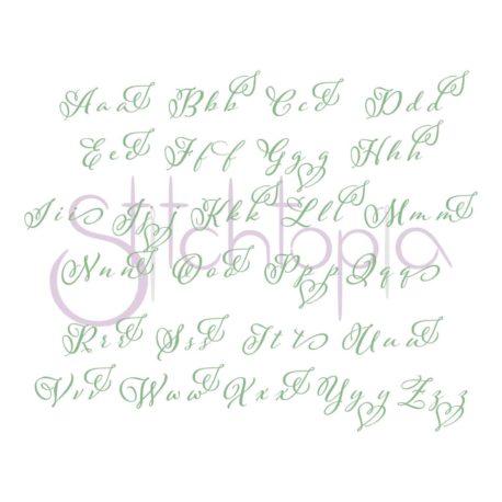 Stitchtopia Hope 1 Monogram Set All Letters