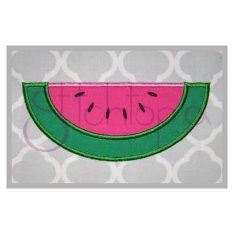 Stitchtopia Watermelon Slice Applique
