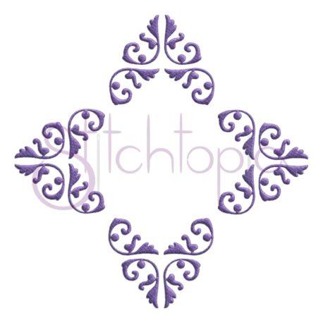 Stitchtopia Damask Diamond Embroidery Frame