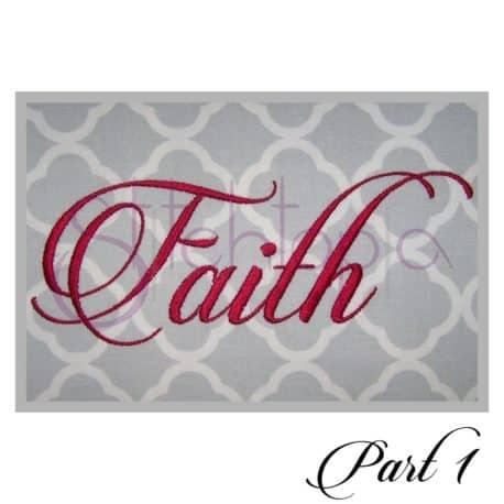 Stitchtopia Faith Monogram Set b