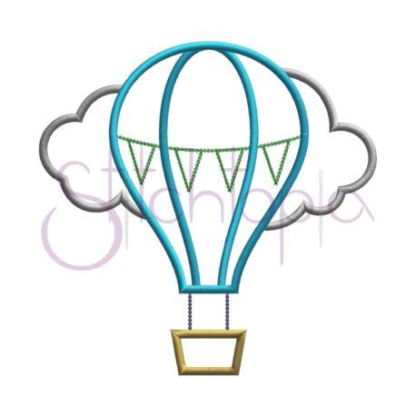 Stitchtopia Hot Air Balloon Applique