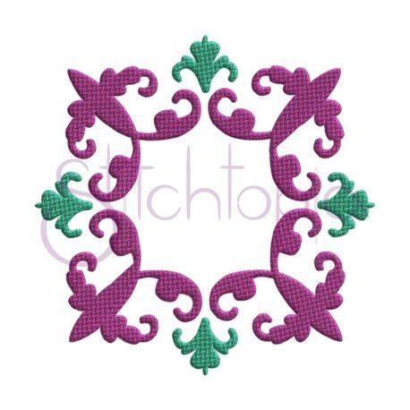 Stitchtopia Vintage Damask Embroidery Frame