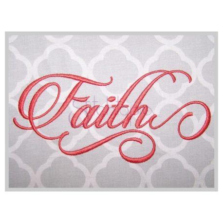 Stitchtopia Faith #2 Embroidery Font