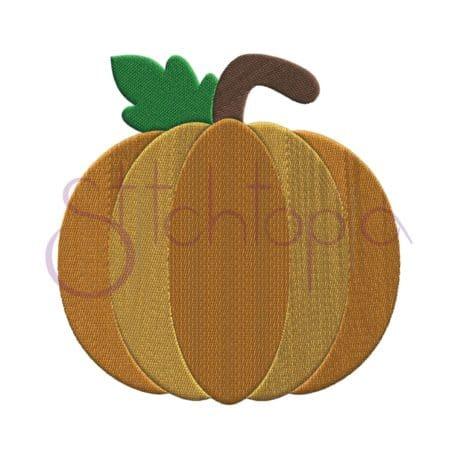 Stitchtopia Pumpkin 1 Embroidery Design