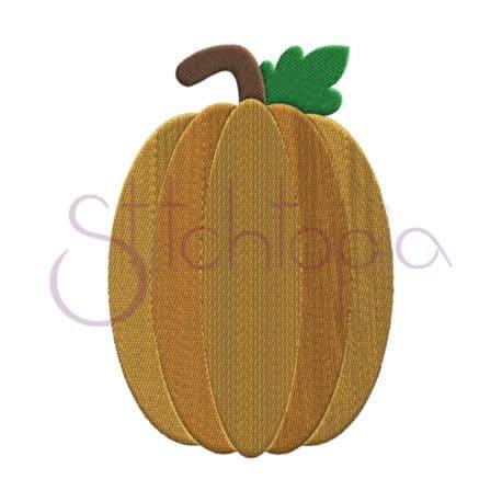 Stitchtopia Pumpkin 2 Embroidery Design