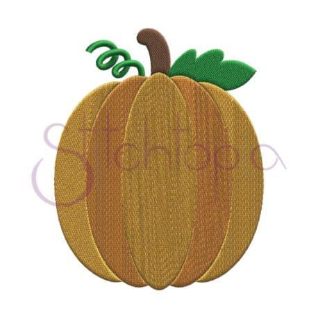 Stitchtopia Pumpkin 4 Embroidery Design