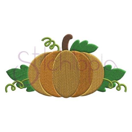 Stitchtopia Pumpkin 5 Embroidery Design
