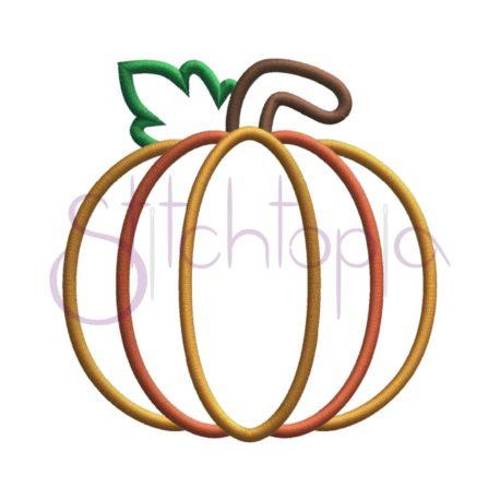 Stitchtopia Pumpkin Applique