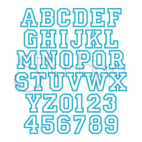 Stitchtopia Sports Applique Monogram Set All