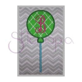 Candy Applique Design – Lollipop