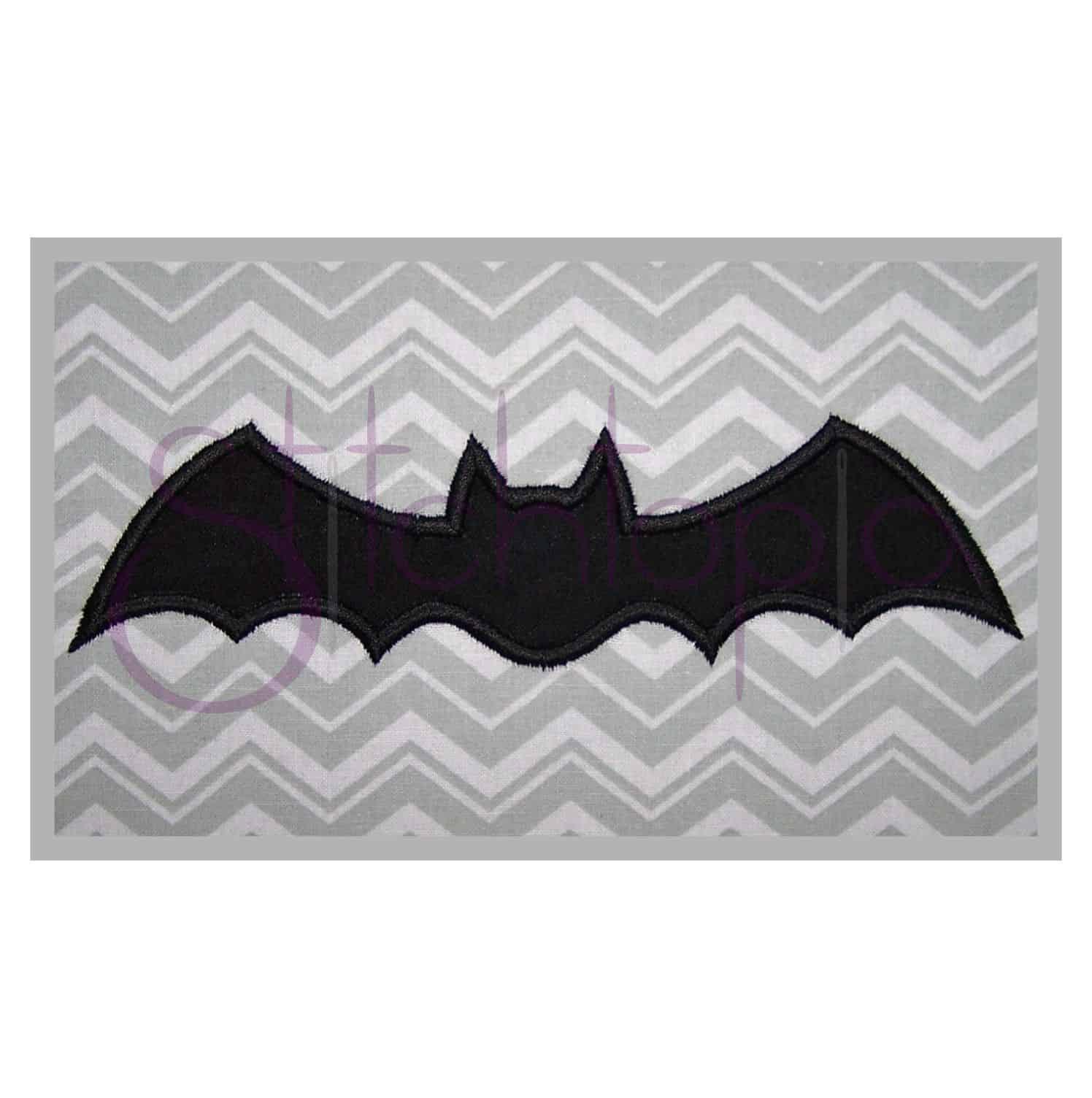 stitchtopia halloween bat applique b - Halloween Bat Pics