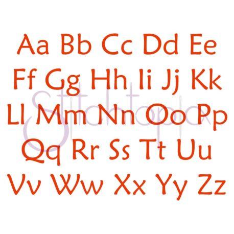 Stitchtopia Lucas Monogram Set All Letters