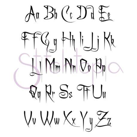 Stitchtopia Spooky Monogram Set All Letters
