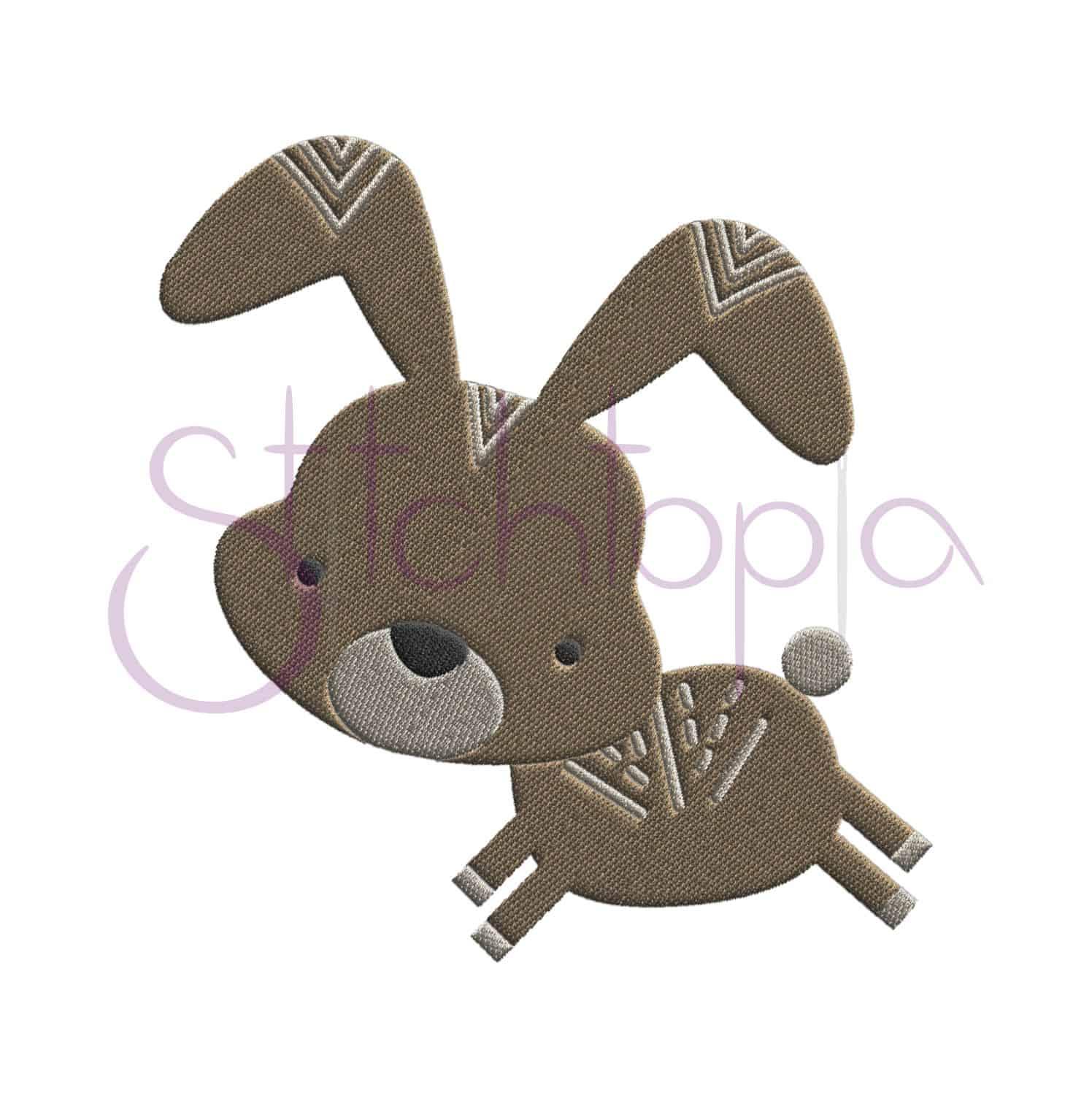 Forest animals embroidery design set stitchtopia