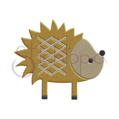 Stitchtopia Forest Animals Hegehog Embroidery Design