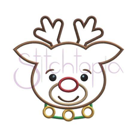 Stitchtopia Reindeer Applique