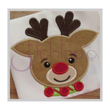 Stitchtopia Reindeer Applique c