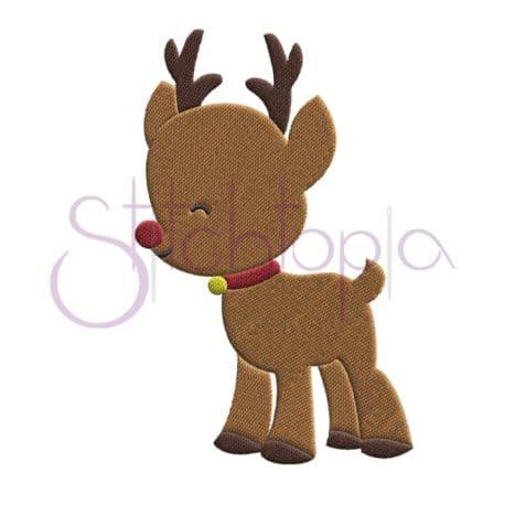 Stitchtopia Reindeer Embroidery Design