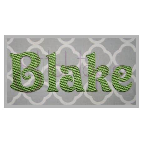 Stitchtopia Blake Monogram Set