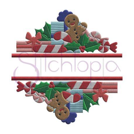 Stitchtopia Christmas Split Embroidery Frame