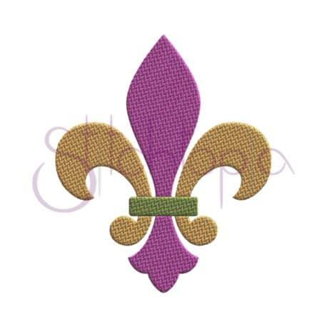Stitchtopia Fleur de Lis Embroidery Design