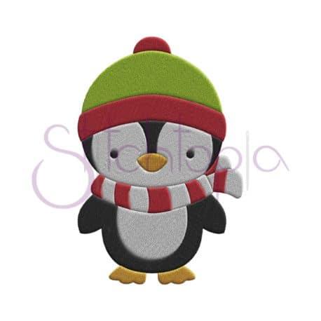 Stitchtopia Penguin Boy Embroidery Design