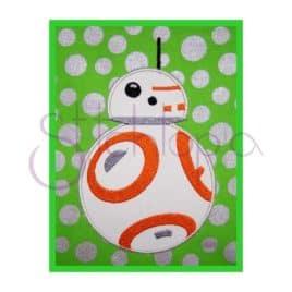 Space Robot Applique Design #1