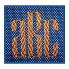 Modern Monogram Font Set – 3″, 4″, 5″, 6″, 7″