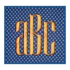 Modern Monogram Font Set – .75″, 1″, 1.25″, 1.5″, 2″, 2.5″