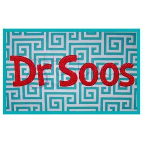 Stitchtopia Dr Soos Mongram Set Large