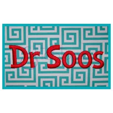 Stitchtopia Dr Soos Mongram Set Small