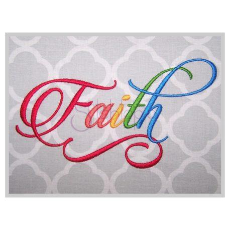 Stitchtopia Faith Embroidery Font Complete Set
